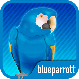 BlueParrott push-to-talk  app